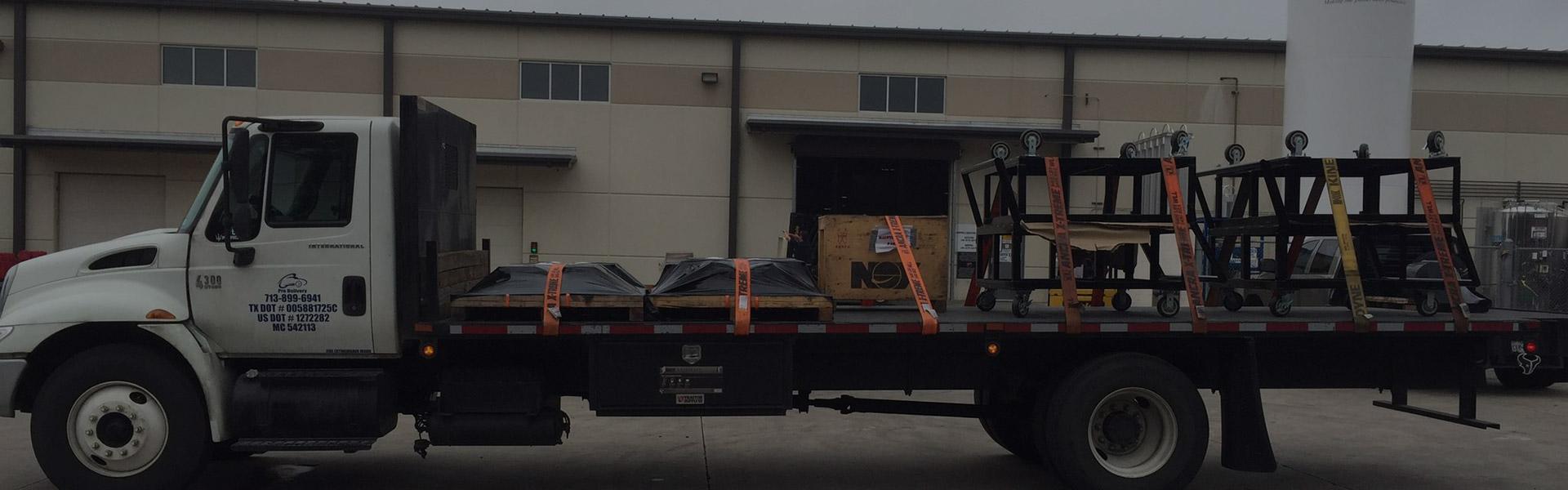 Trucking Company in Houston, TX | Hot Shot & Heavy Trucking